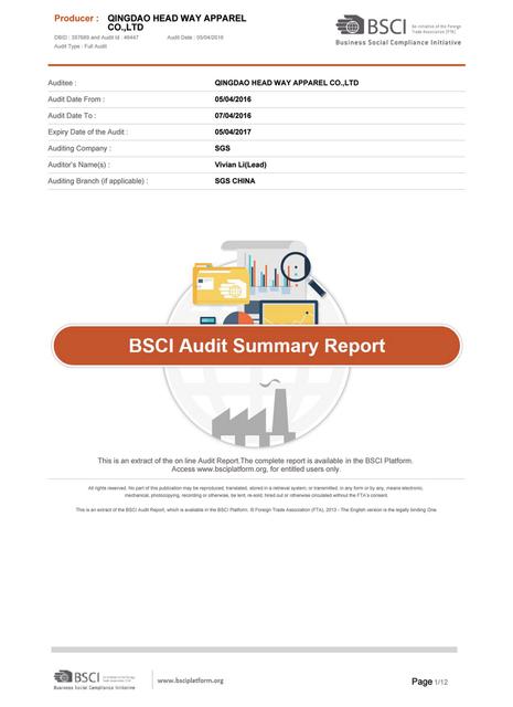 Certificates Qingdao Goldmyk Industrial Co Ltd