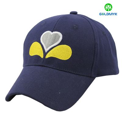 Custom Heavy Brushed Cotton Flat Embroidery Wholdsale baseball cap