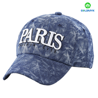 Custom 3D logo embroidery fashion material baseball Cap