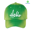 Heavy Cotton Baseball Cap with LOGO printing or Embroidered