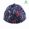 Custom Brushed cotton printing pattern blank six panels flex fit style hat