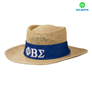 High quality Paper straw panama hat for men