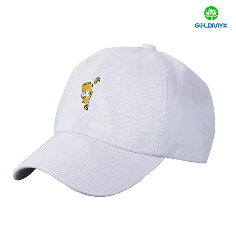 Hot Sale 100% cotton twill baseball Cap