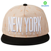 Custom Fashion Fabric 5 Panels 3D embroidery Snapback