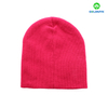 Custom Wholesale Beanie hat with flat embroidery logo