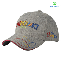 Fashion canvas sandwich baseball Cap with custom logo