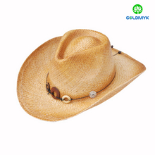 Fashion Wholesale Western Bulk Straw Cowboy Hats