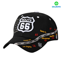 Acrylic Six Panels Sport Cap with Complex embroidery Design