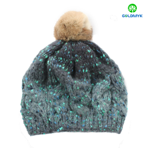 Women's Mens Unisex Warm Winter Knit Hat Fashion cap Hip-hop Ski Beanie Hat