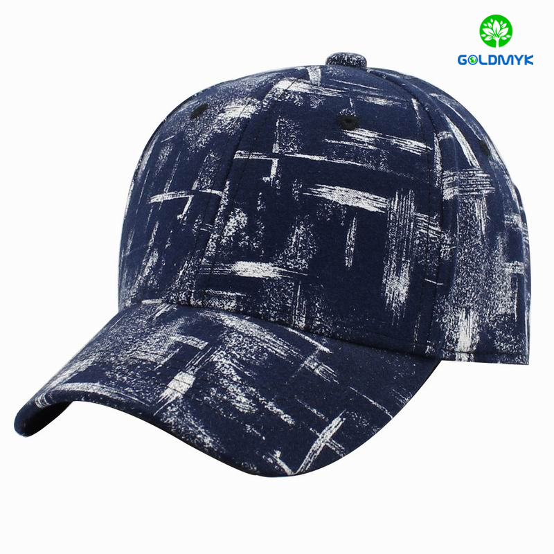Fashion design custom made printing 6 panels flexfit baseball cap
