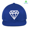 Royal blue 3D Embroidery 6 Panel Snapback Cap Wholesale