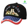 Six panel acrylic fabric plain color custom baseball cap
