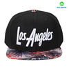 Custom 3D embroidery and sublimation printing acrylic snapback manufacturer