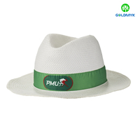 China high quality fashion Paper panama hats wholesale
