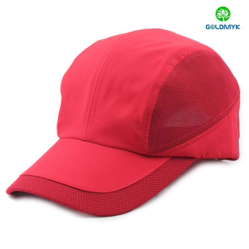 Custom Microfibre Blank Wholesale Running Cap