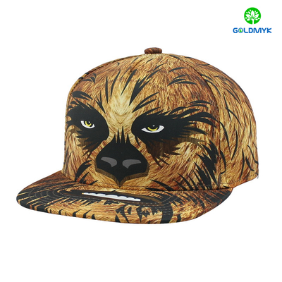 High quality Mirco polyester Animal Snapback hat