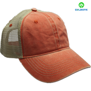 Vintage Pigment Washed Unstructured Baseball Cap Hat