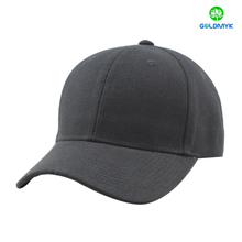 Black acrylic baseball cap without logo