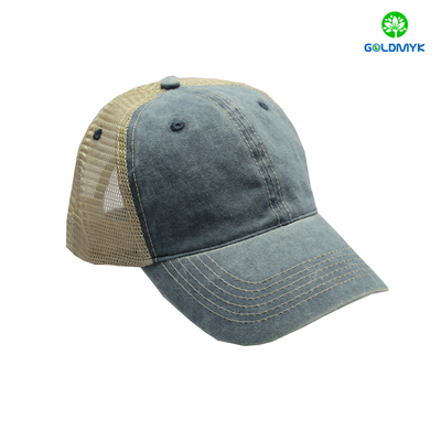 Coating Washed Trucker Cap