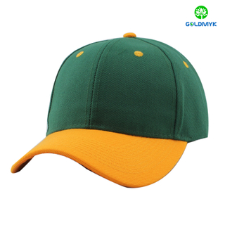 wholesale custom contrast color cheap blank baseball cap