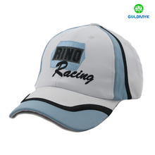 Polyester material joint piece baseball cap with flat embroidery