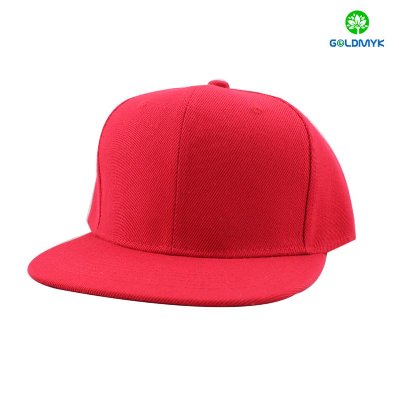 Acrylic blank snapback cap