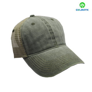 6 Panels Coating Washed Trucker Cap