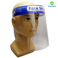 Droplets-proof Anti-Virus Anti-Dust And Anti-Fog PET Face Shield, Protective isolation mask Can Direct Splash Protection