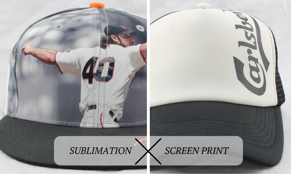 sublimation and screen print comparison