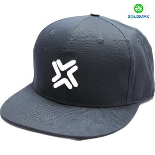 Customed 3D Embroidery 6 Panel Snapback Cap Wholesale