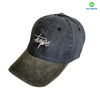 Promotional Custom Made 6 Panels Cotton Pigment Washed Embroidery Baseball Cap