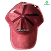 Custom Made 100% Cotton Pigment Washed 6 Panel Embroidery Baseball Hat