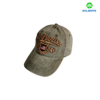 Good Quality Custom Made Pigment Washed 6 Panels Baseball Hat