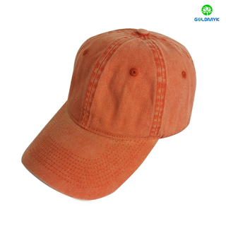Customized Coated Washed Baseball Cap