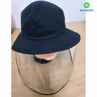 Anti New Coronavirus Anti-Dust And Anti-Fog Face Shield Fishing Hats