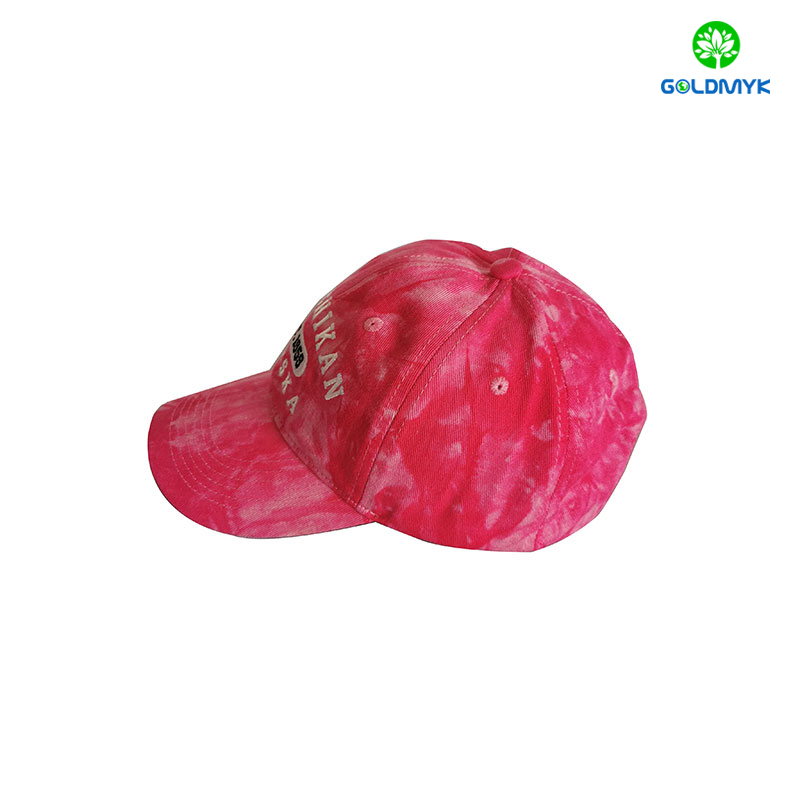Customized Embroidery Coated Washed Cap