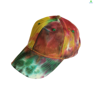Fashion Customized Tie Dyed Baseball Cap