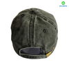 Fashion Custom Made 100% Cotton Pigment Washed Embroidery Baseball Cap