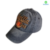 New Design Custom Made Pigment Washed 6 Panel Embroidery Baseball Hat