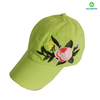 New Fashion Women Sports Flower Embroidery Baseball Cap